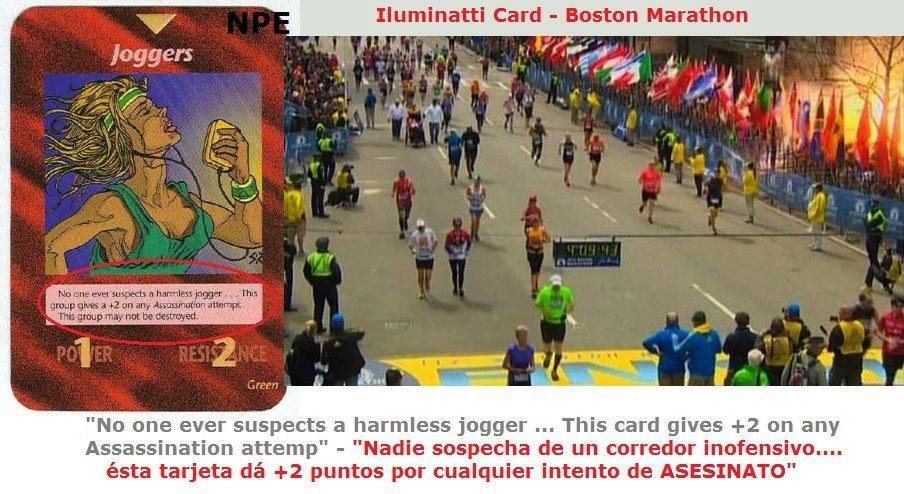 atentados maratn de Bostn, castas illuminati, posible operacion bandera falsa